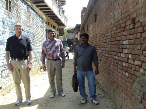 High Quality ... Dickie Cralle (far Left), Owner Of Green Front, With The Rug Buyers In  India ...