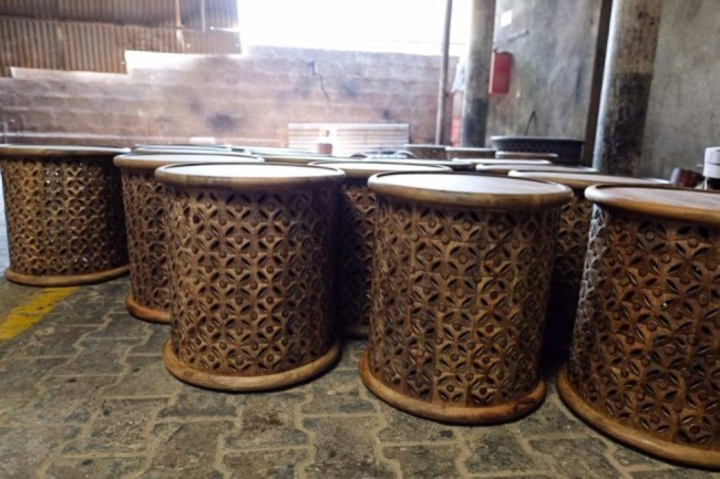 tribal accent tables