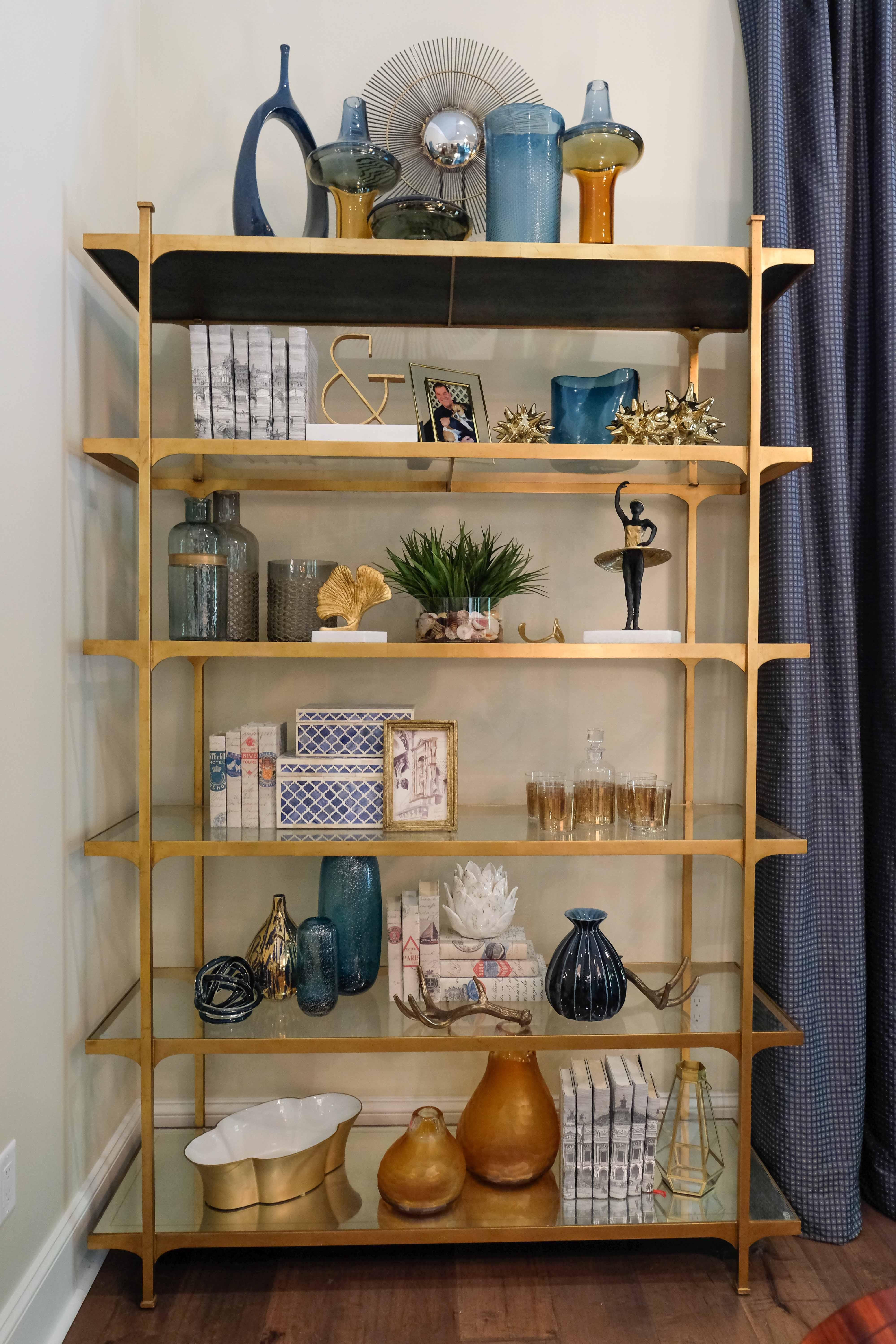 Bookcase Shelves Green Front Furniture