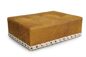 Green Front Furniture Ottomans
