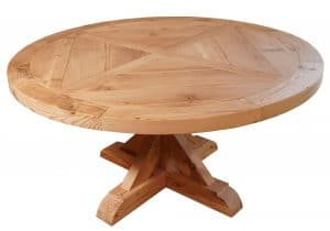 circle dinner table from Barkman Table
