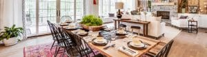 Dining room pieces at Green Front Furniture