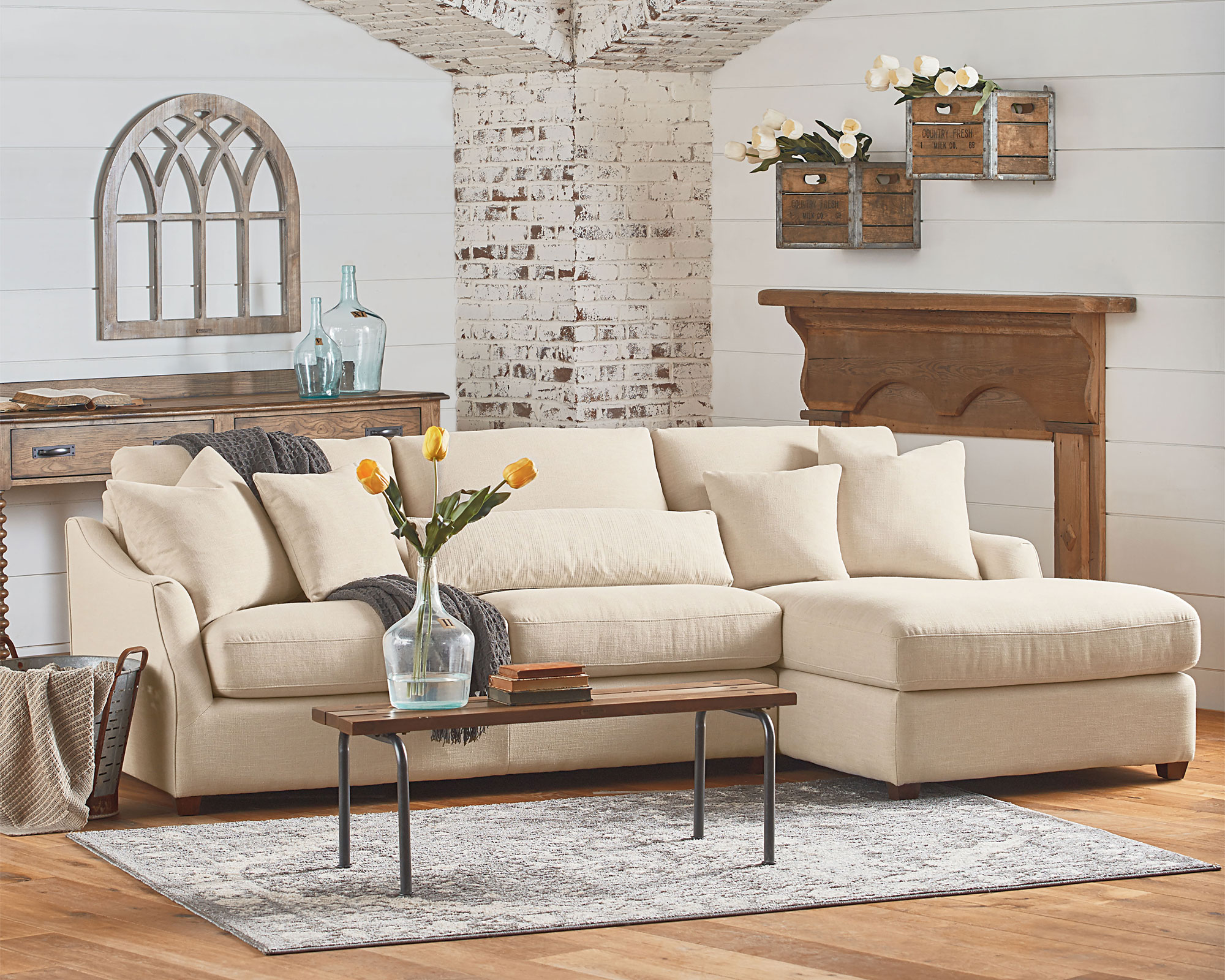 Magnolia Home Green Front Furniture