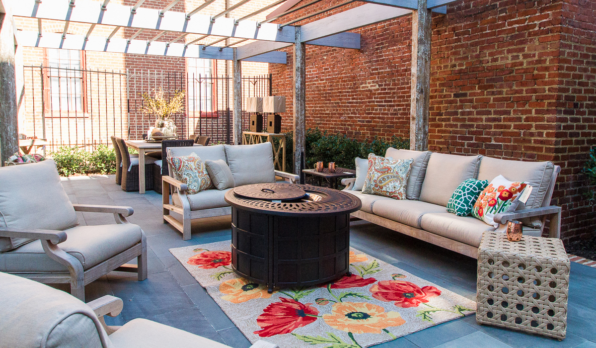 Outdoor Living | Green Front High End Luxury Furniture on Fine Living Patio Set id=87403