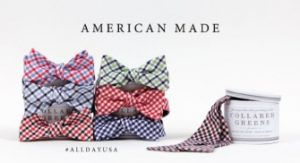 Collared Greens bowties and ties