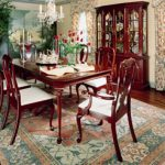 Colonial Furniture Company dining table set