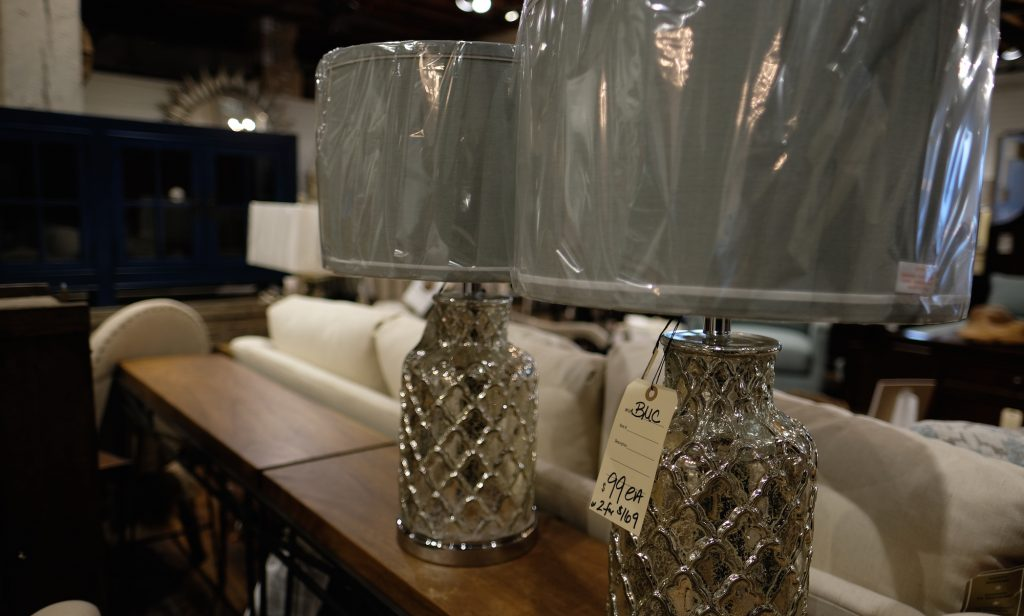 accent lamps at Green Front Furniture