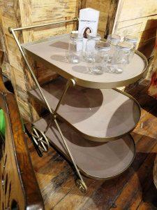 Rachael Ray Bar Cart at Green Front Furniture