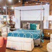 Henredon canopy bed