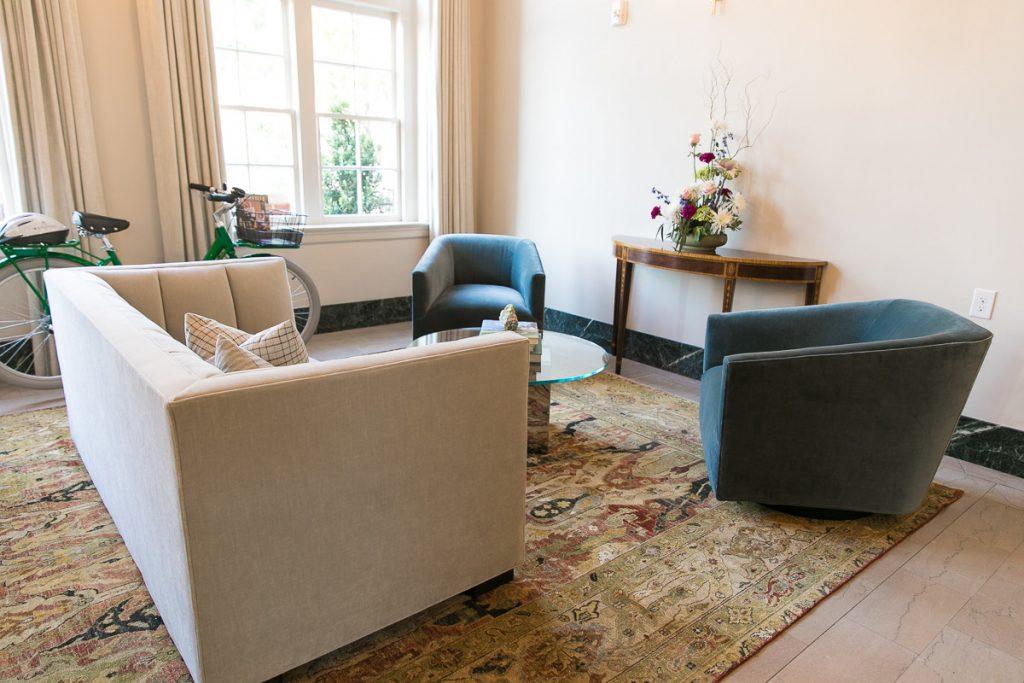 Henkel Harris furniture and indian rug