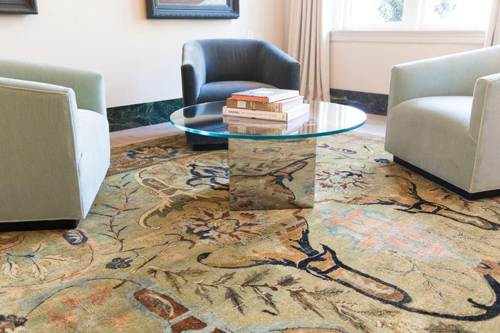 Hotel Weyanoke indian rug