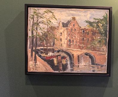 Van Thiel acrylic painting