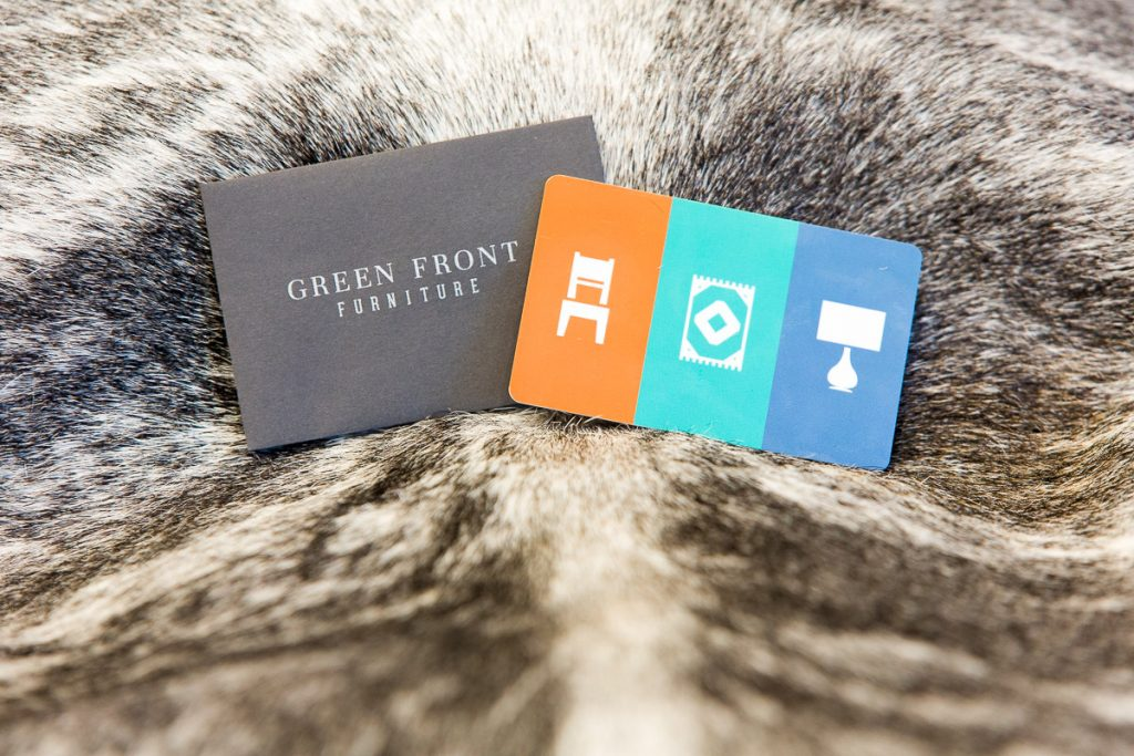 green front gift card