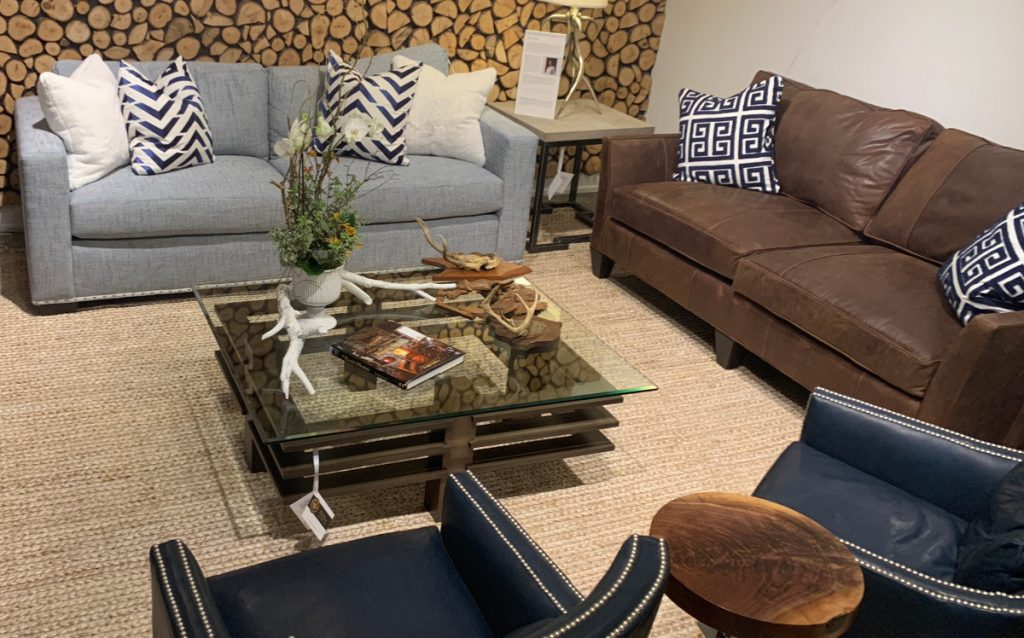 Naturals with traditional furniture