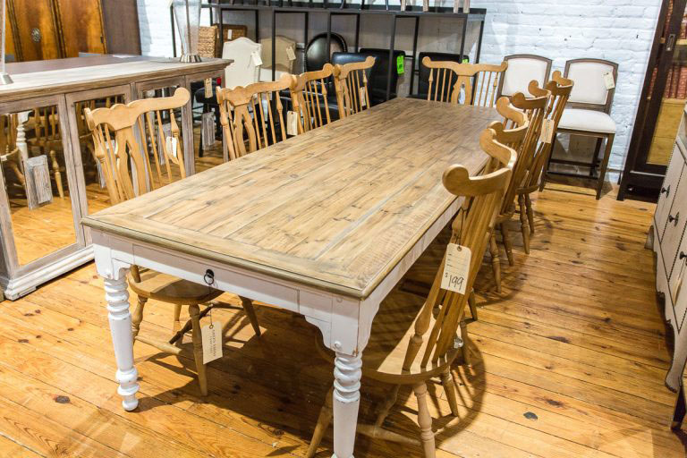 large-table-green-front perfect thanksgiving furniture