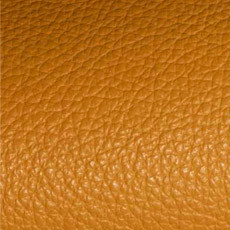 Corrected grain leather