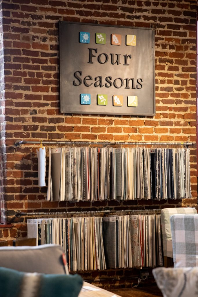 Four Seasons fabric selections