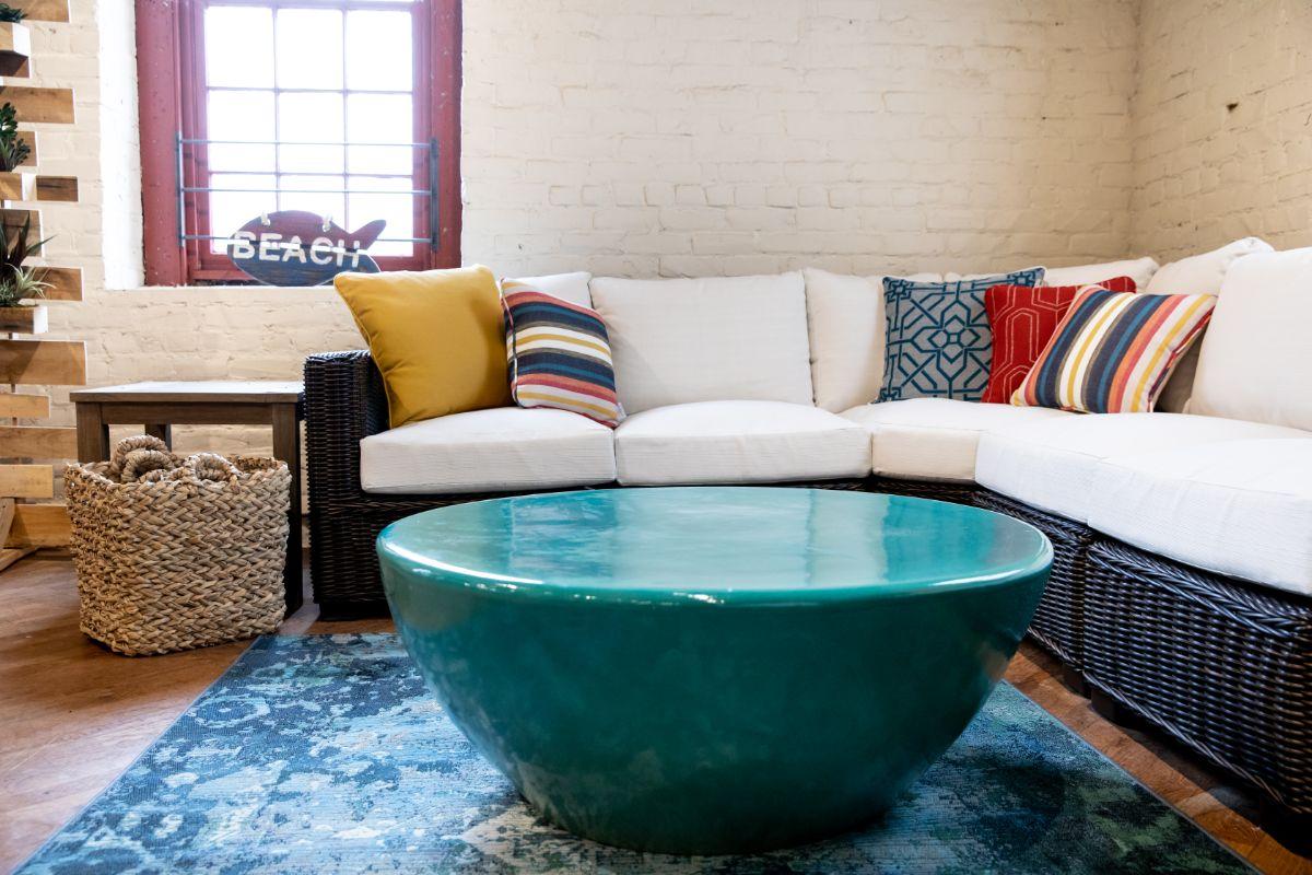 Seasonal Living ceramic table