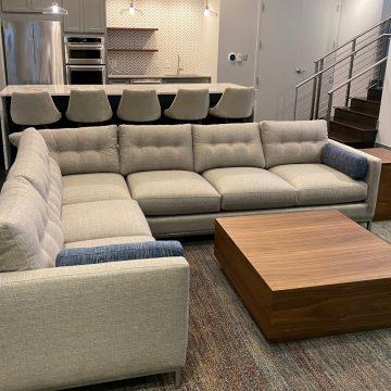 American made furniture NOVA showroom
