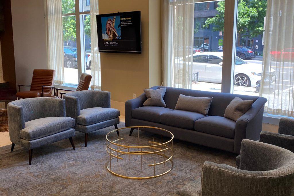 Furniture Showroom-Edward Huggins design hunt